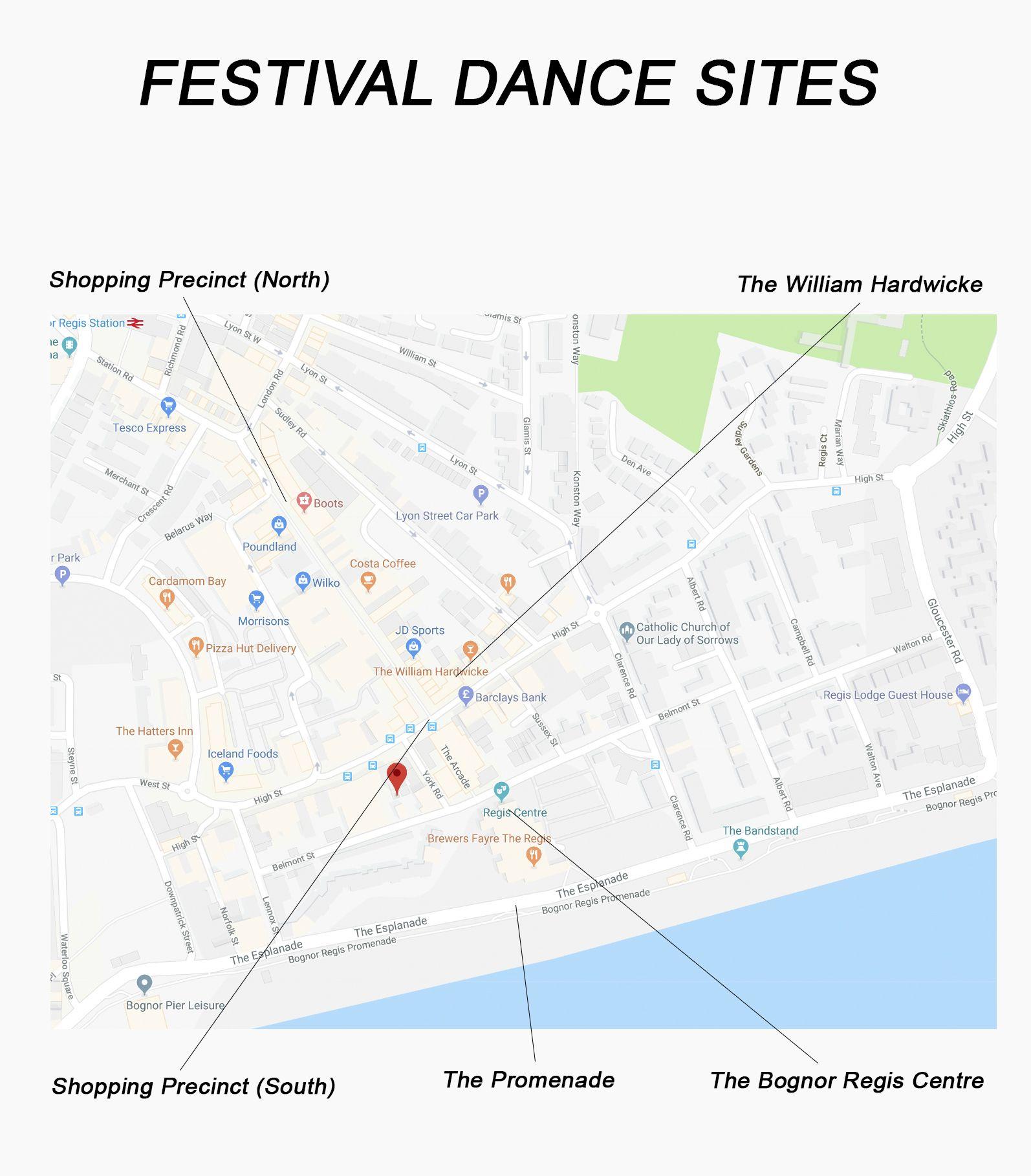 Festival Dance Sites 2018